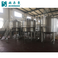 3BBL 5BBL 7BBL 10BBL 15BBL 20BBL 30BBL Stainless Steel 304 Micro Brewery Mash System Beer Brewing Equipment For Sale