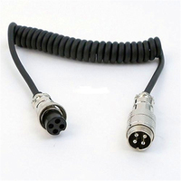 4Pin XLR Male to XLR Female Microphone audio Cable
