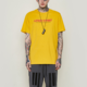 2019 Mens clothing manufacturers new design spring funky t shirt cheap promotion men's letter yellow t shirt