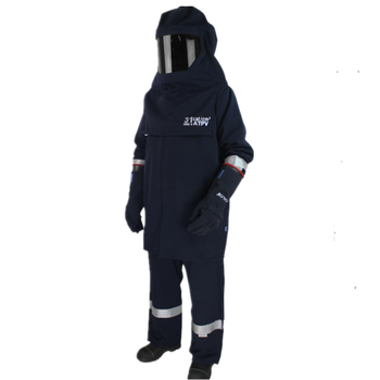 2019 arc flash clothing hot sales Power station electrician operation flame retardant arc flashing