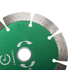 "Electroplated 30 inch Diatool Diameter 4"" concrete cutting Dry or Wet sintered circular Turbo Diamond segments Saw blade"