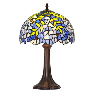 Led Light Table Decoration Glass Shade 12 inch Tiffany Style Table Lamps