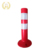 plastic traffic warning post traffic collapsible delineator post