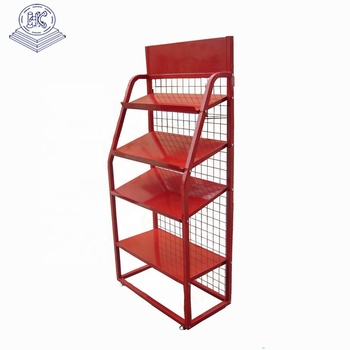 ODM large capacity oil rack with advertising