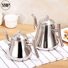 YRP Quality Stainless Steel Coffee Kettle Teapot Percolator Drip Pot Coffee Maker Accessories For Battery Stoves kitchen Tools