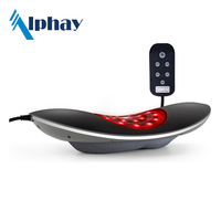 Vibrator massager for bed& Personal Care Portable Lumbar Massager With Heating Vibrating Functions Better Than Massage Beds