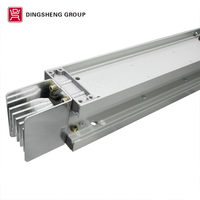 sandwich single silver plated copper bus duct/bus bar/busbar scheme specifications