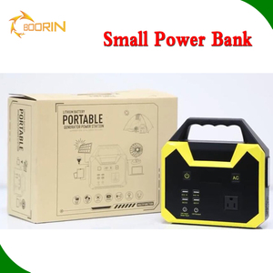 Functional AC 100W 200W 300W 220v portable power bank station 110v USA EU charger mini solar power bank