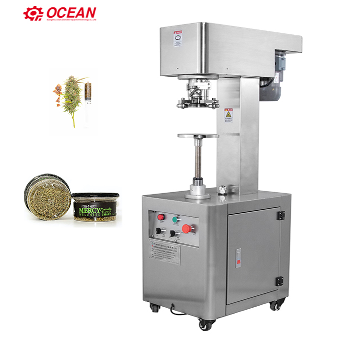 Manual 3 5 Grams Smart Bud Can seamer Flywheel Weed Can Sealer, View weed  cans seal, OCEAN Product Details from Guangzhou Ocean Automation Equipment