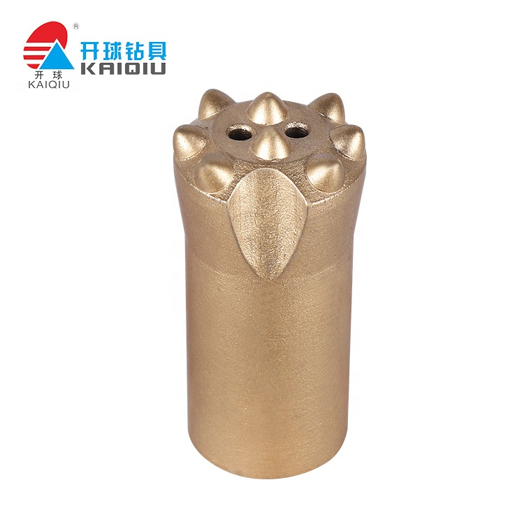 34mm Taper DTH Carbide Nút Khoan Bit