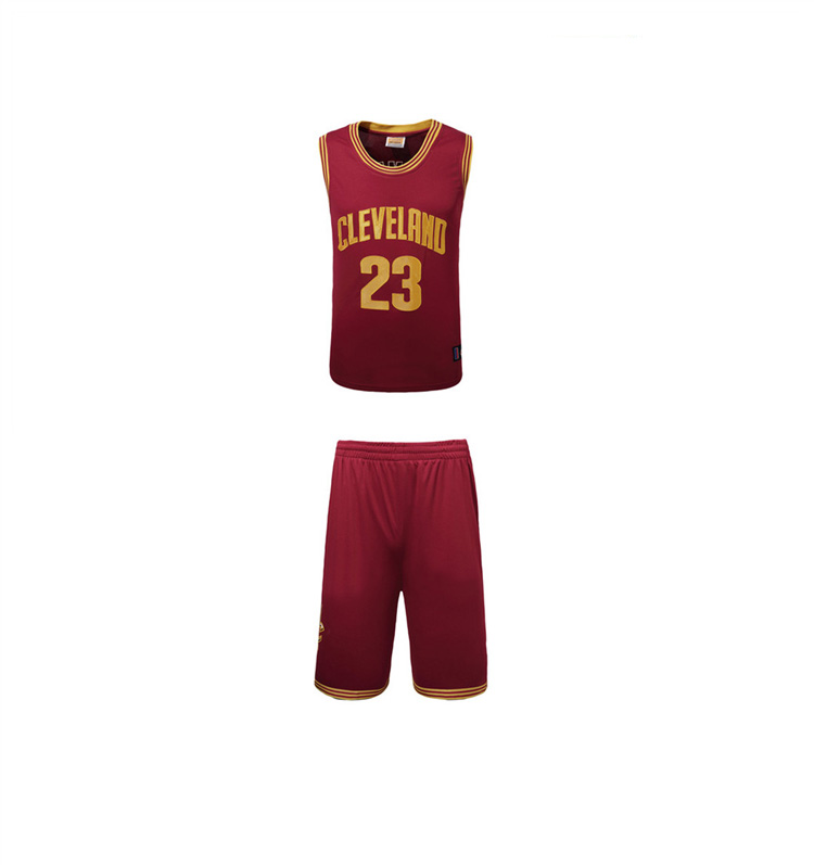 Günstige Großhandel Männer Sport setzt Basketball Team Jersey Uniform / Sublimation Printed Basketball Sets