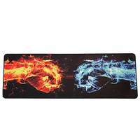 High quality waterproof rubber material large gaming mouse pad large desk mat
