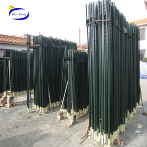 Best Green color painted t post With The Best Quality