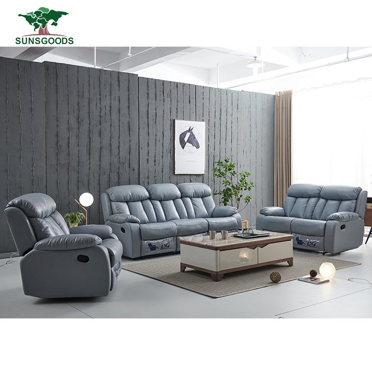 Fabric Recliner Sofa 321 Living Room
