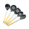 Amazon Best Selling 5 Pcs kitchen accessory Silicone Kitchen Utensils Set silicone spatula Kitchen Accessories for Kitchenware