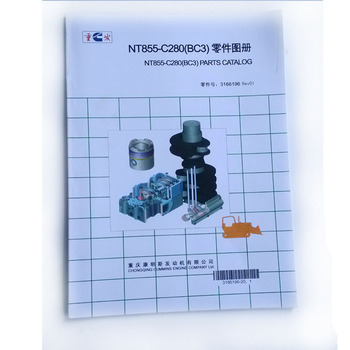 Diesel Roller Engine Parts Manual 3810395 For NT855 View Manual 3810395 NT855 Diesel Engine Product Details From Chongqing Wancum Mechanical