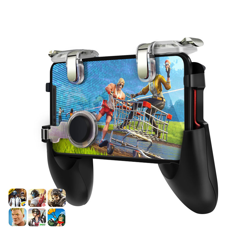 Gamepad For Pubg Mobile Phone Game <strong>Controller</strong> L1R1 Shooter Trigger Fire Button