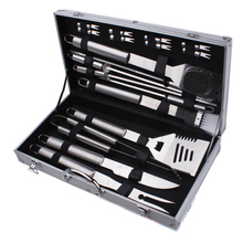 Bbq tool set 18 stuk, 18-piece grill set met case