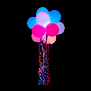 Boomwow Wholesale Factory Direct Party Decoration Festival Celebrations Latex LED Light Balloons