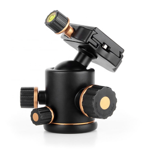 DSLR camera 360 degree liquid rotary heavy camera tripod ball head
