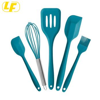 Cooking Utensils Set Red Kitchen Utensil Set Spatulas Silicone Heat  Resistant spatula set, View silicone Kitchen Utensils Sets, Longfa Product  Details ...
