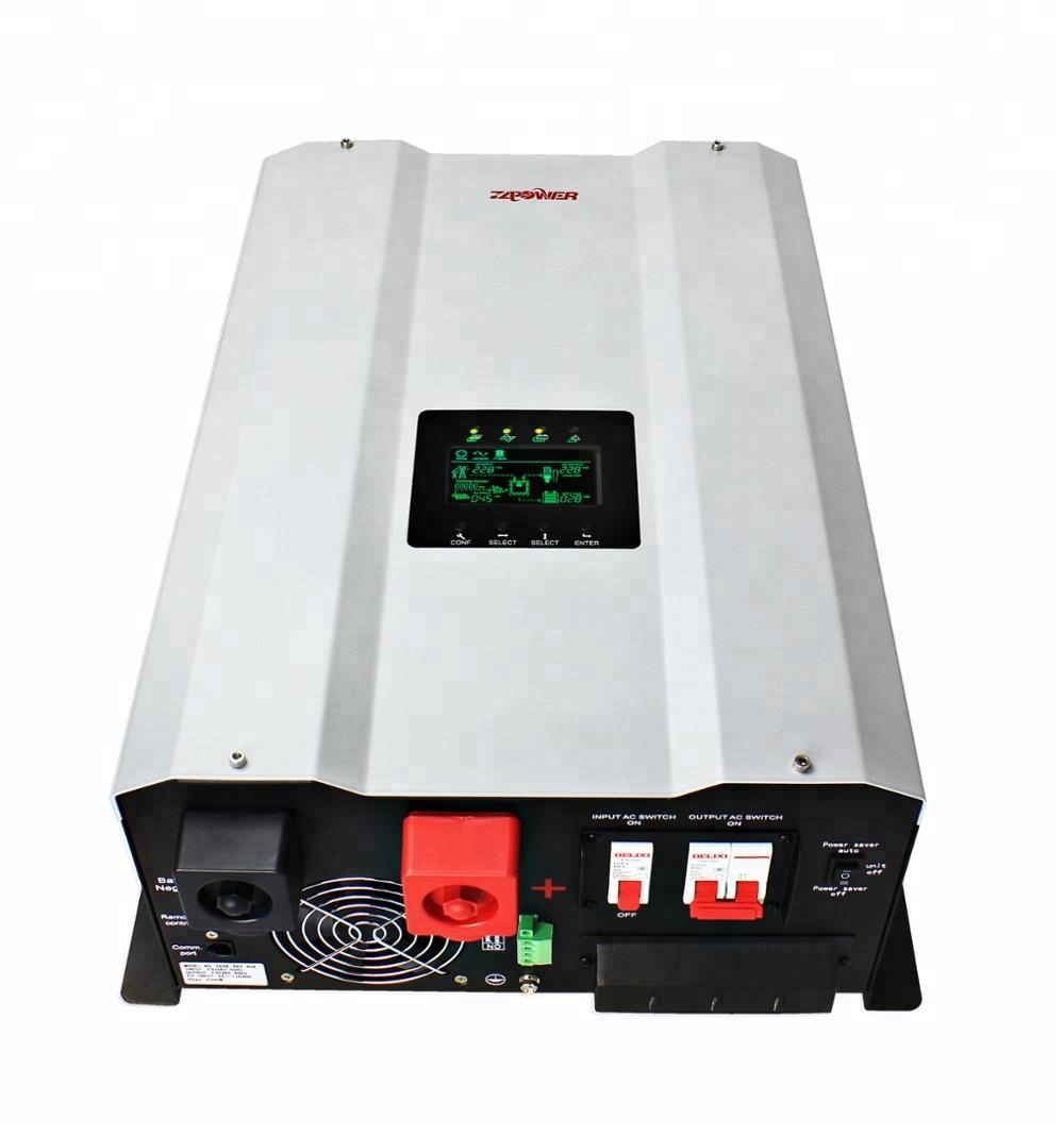 3KW 5KW 12KW Split Phase Solar Panel Hybrid MPPT Inverter