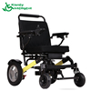 Factory price newest steel electric wheelchair wheel commode