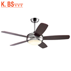Wholesale Prices Modern Fans Ceiling Electric Plywood Blade 1 Lamp Ceiling Fan With LED Light