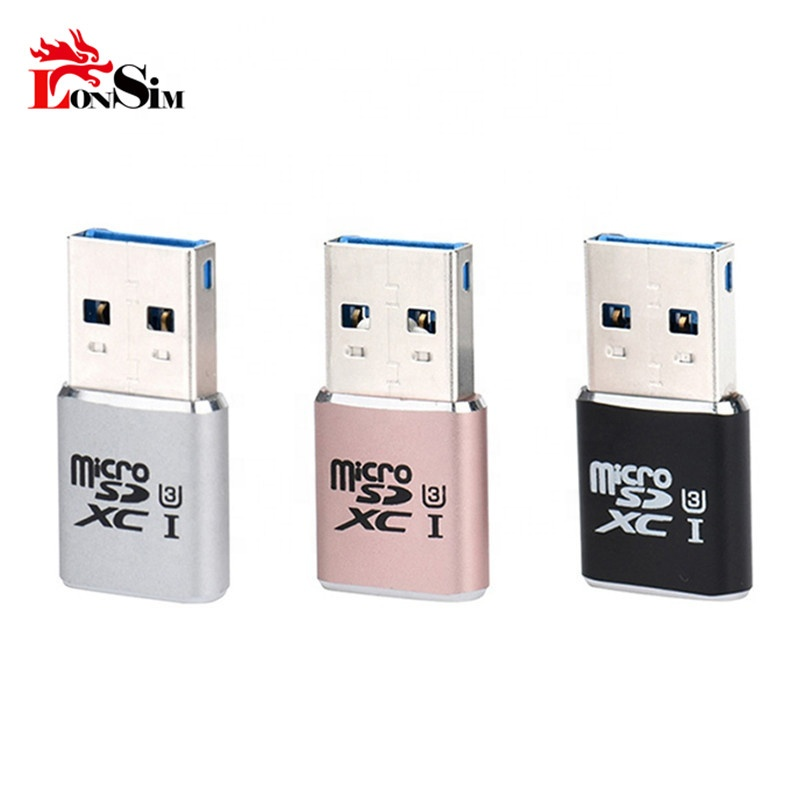 Card Reader Adapter Super Speed 5Gbps USB 3.0 Micro SDXCSD TF T-Flash Card Reader Adapter