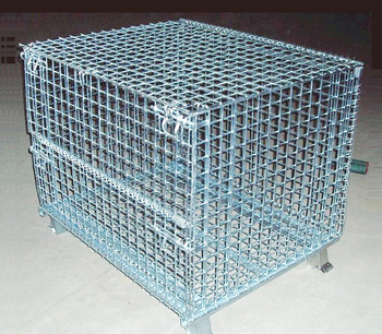 Manufacturer Standard Customized Folding Wire Container