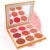 Hot Wholesale Glow Beauty Face Makeup Powder Blusher Rose Wedding Blushers High Quality Single Blusher Private Label 9 colors
