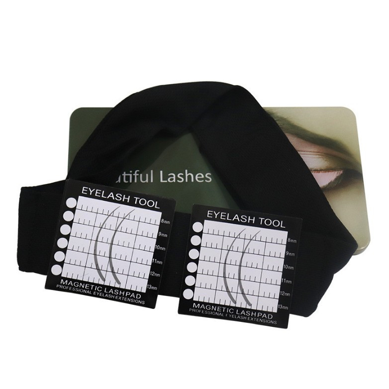 Hottest Grafting Eyelash Headband Lash Stand Magnetic Lash Aplicator Headband фото
