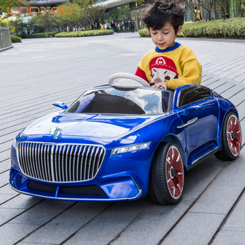 Hebei factories custom lootoo international self driving cheap remote control 12v kids electric car