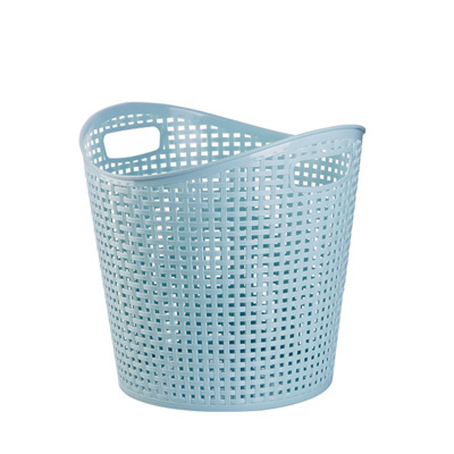 Plastic <strong>storage</strong> <strong>basket</strong> Washing Bin Dirty Clothes <strong>Storage</strong> <strong>Bathroom</strong> Bedroom Closet Toy <strong>storage</strong> <strong>basket</strong> with handle