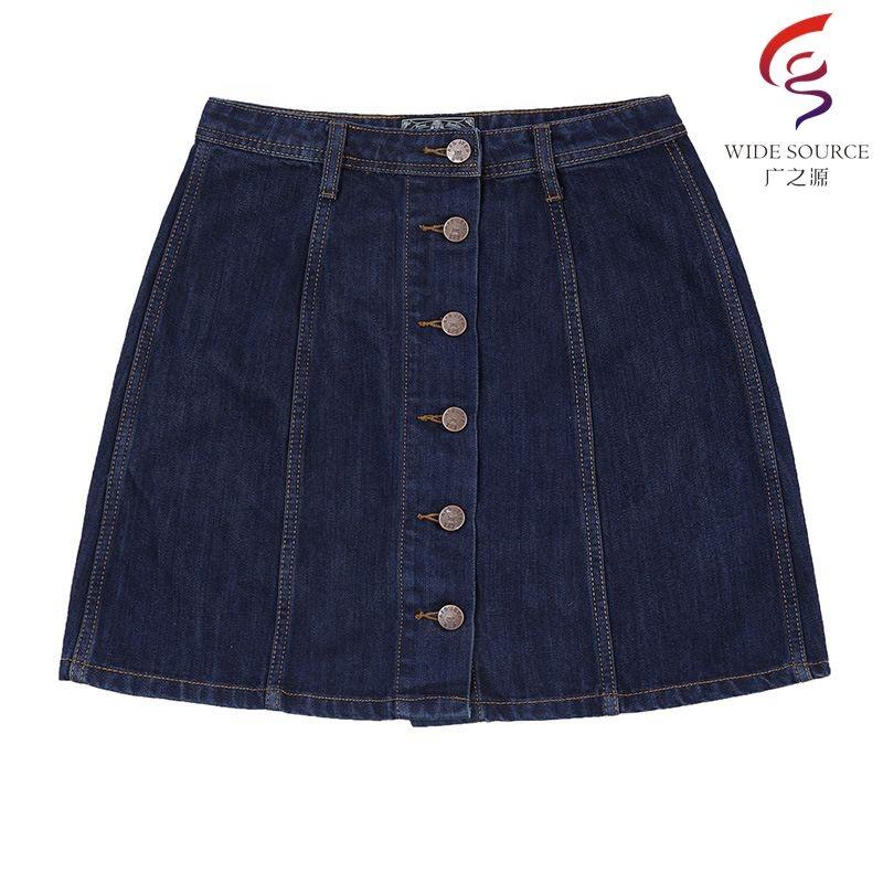 7037d9436 Venta al por mayor imagenes de faldas de mezclilla-Compre online los ...