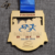Shuanghua factory custom 3D gold bike cycling run finished medals with own design