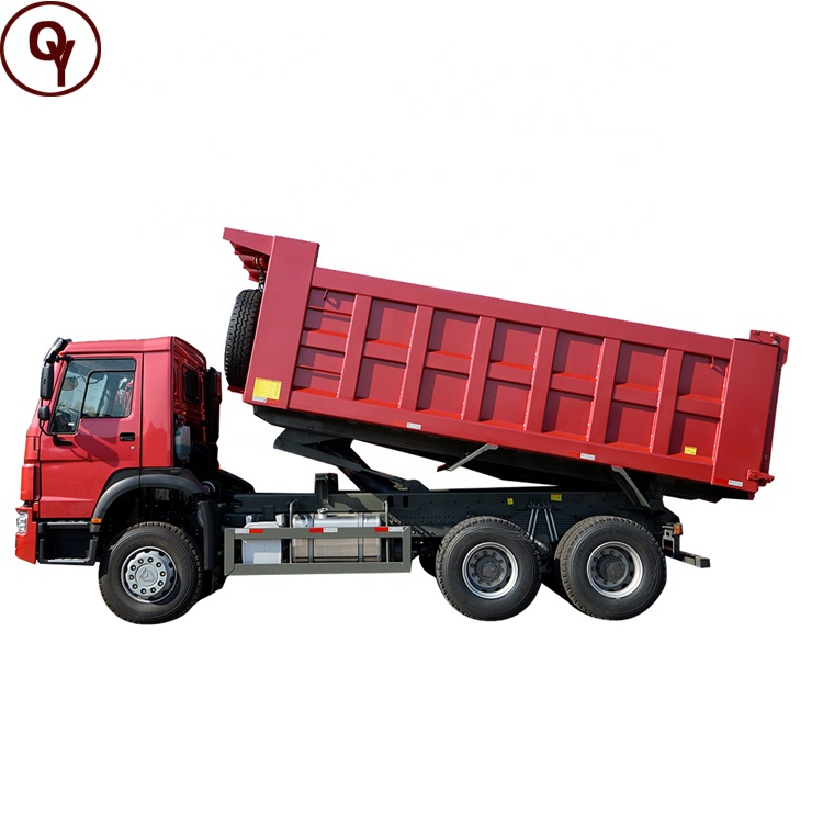Sinotruk 10 Wheel 6x4 371hp new and used Howo dump truck Price for sale