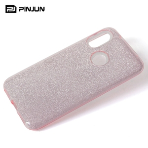 for samsung galaxy a40 phone case glitter bling 3 in 1 slim cover case for samsung galaxy a40