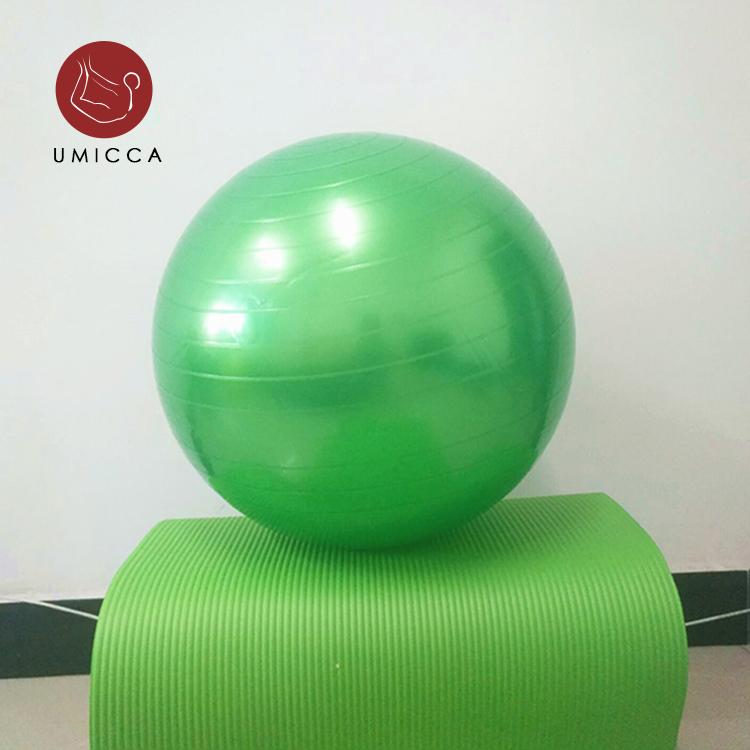 حجم مخصص 100 سنتيمتر 110 سنتيمتر مكافحة انفجار الأحمر كرة الصالة الرياضية مجموعة دائم ممارسة اليوغا كرة الصالة الرياضية اللياقة البدنية