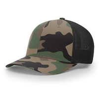 China Supplier custom trucker snapback hat mesh back caps richardson camo baseball cap
