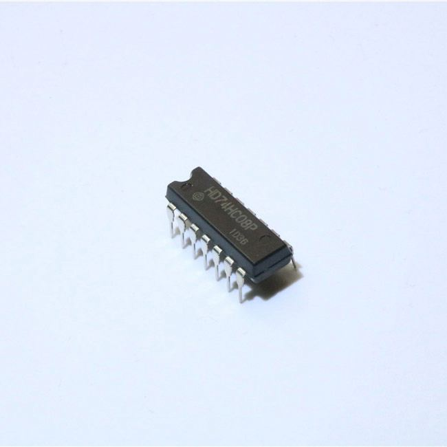 Novo e original ic chip HD74HC08P chip ic