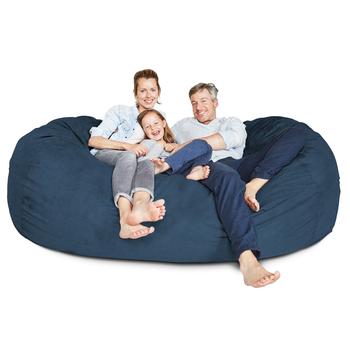 Filling Fur Furniture Sofa Puff Suede