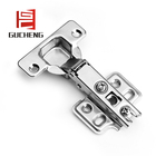 Top sell furniture hardware steel material four/two holes concealed hinge