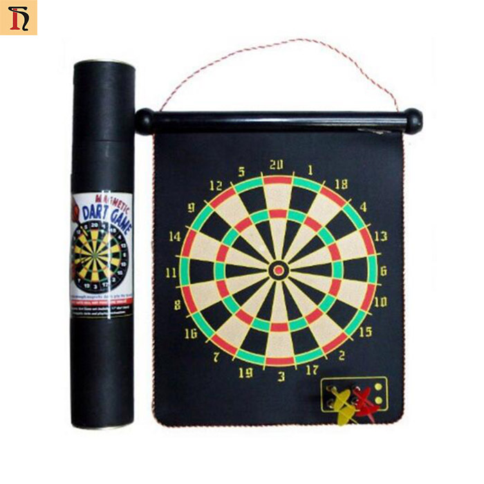 Wholesale Board Game Magnetic Dartboard Size 12 13 15 17 Inch Safety Dartboard with 4 Smartness Darts