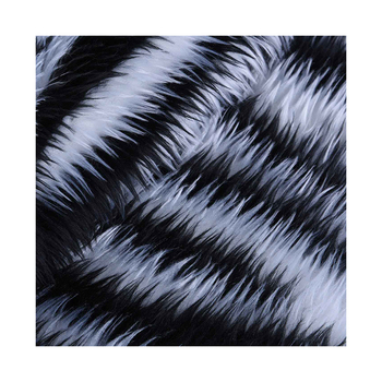 Custom Luxury Long Pile Fake Fur Fabric Artificial Faux Fur