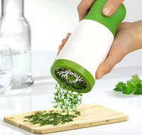 Herb Grinder Spice Mill Parsley Shredder Chopper Fruit Vegetable Cutter