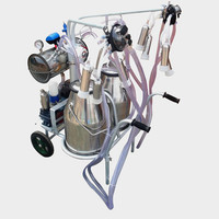 Dairy farm equipment Newest Electric Single Goat Cows Portable India Milk Sucking Machine
