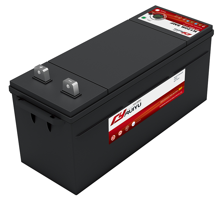 Japan standard car exid calcium battery manufacturer maintenance free heavy duty truck auto battery
