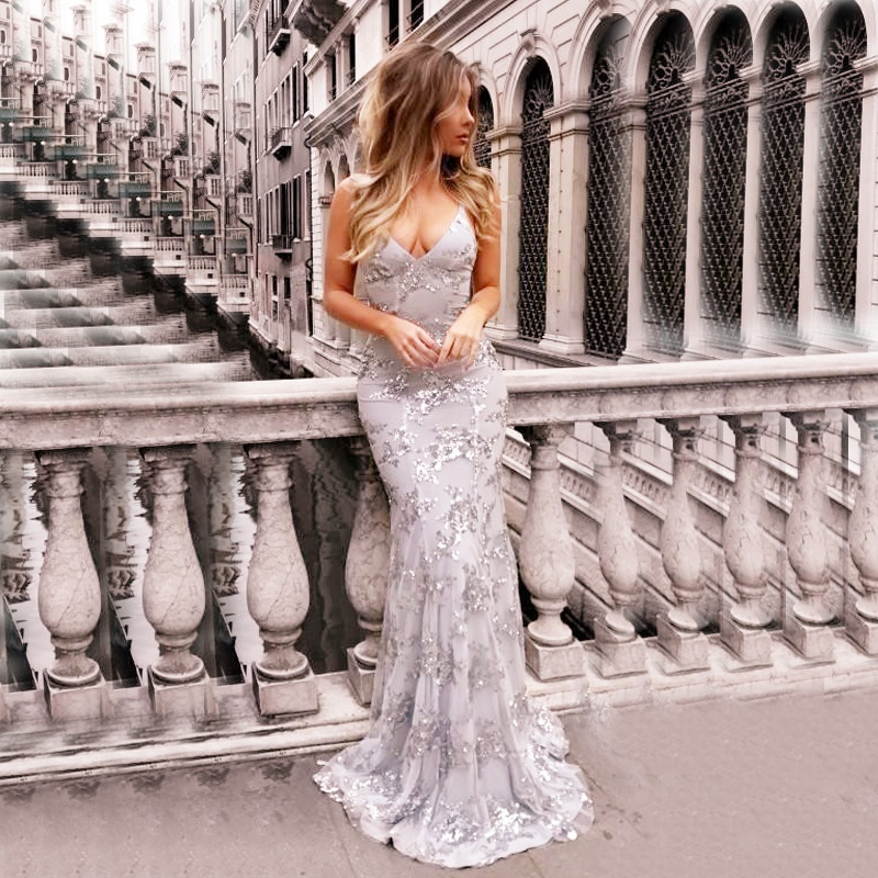 European Sexy Boho Bandage Lady Evening Dress