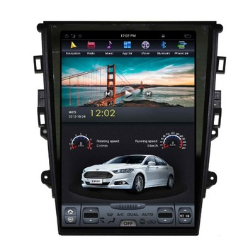 Car gps Tesla style with android car dvd for Ford Mondeo 2013-2017